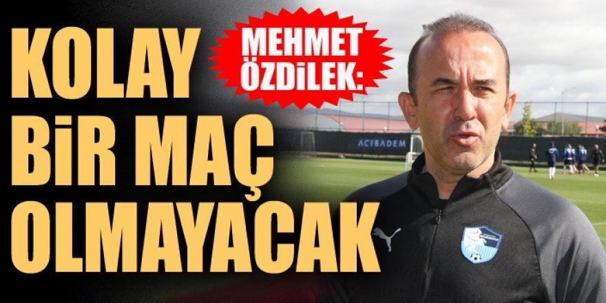 """Özdilek: """"Galatasaray'ı yenerek yolumuza devam etmek istiyoruz"""""""