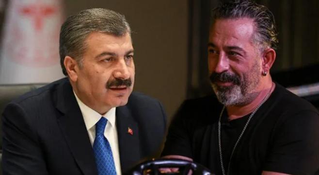 Sağlık Bakanı Fahrettin Koca, Cem Yılmaz'ın sağlık çalışanlarıyla ilgili çağrısına olumlu yanıt verdi