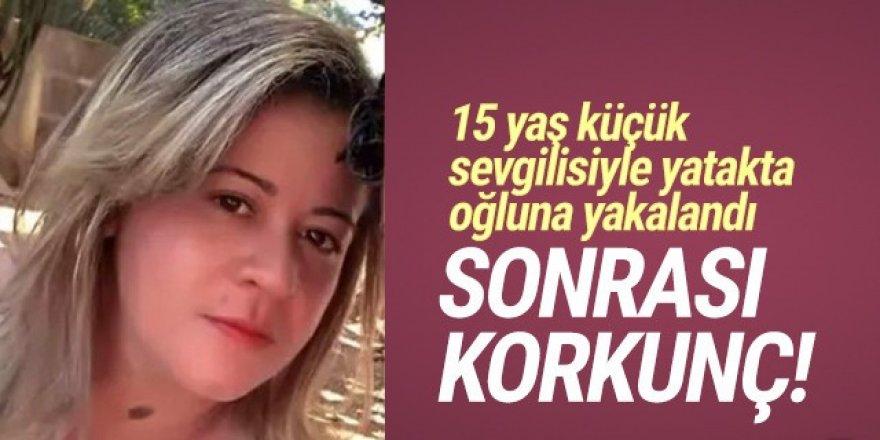 15 yaş sevgilisiyle yatakta oğluna yakalandı! Sonrası korkunç!