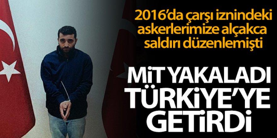 2016'da çarşı iznine çıkan askerlere saldırının faillerinden biri Türkiye'ye getirildi