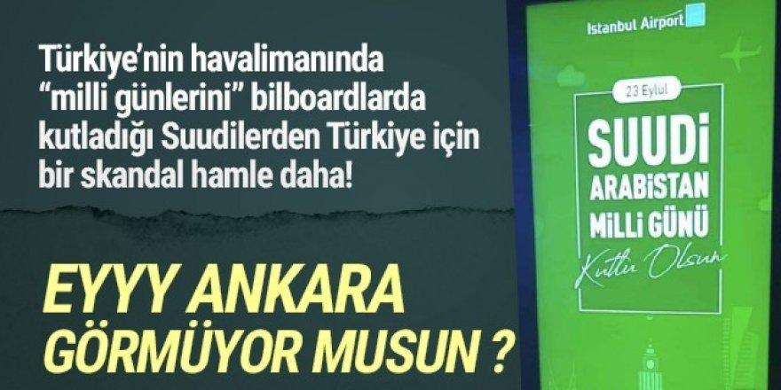 Suudi Arabistan, Türk ürünlerinin yerine Yunan bayrağı astı!