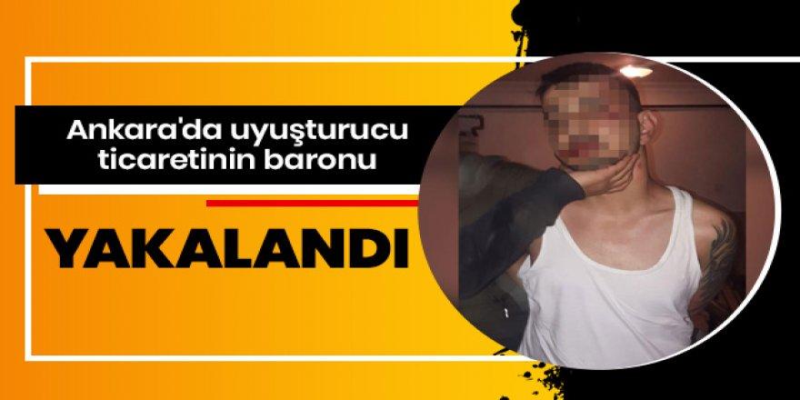 Ankara'da uyuşturucu ticaretinin baronu yakalandı