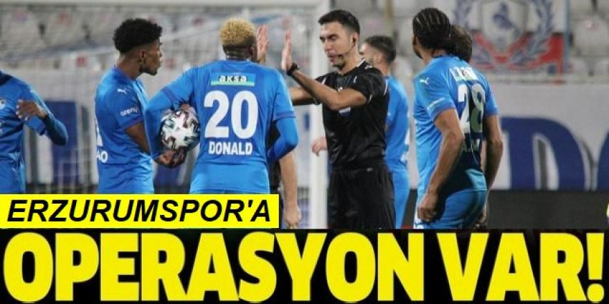 Erman Toroğlu: 90+'da Erzurum'un penaltısı verilmedi!