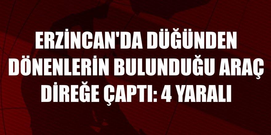Erzurum geliyorlardı: 4 yaralı