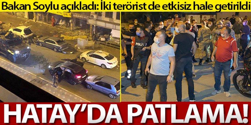 Bakan Soylu duyurdu: İki terörist etkisiz hale getirildi