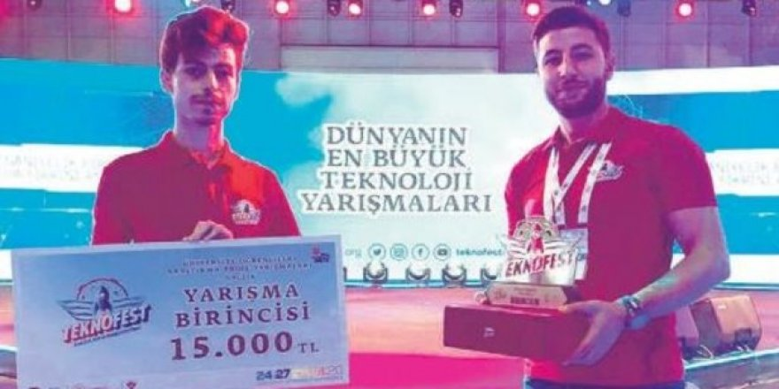 Erzurum Atatürk Üniversitesi öğrencileri TÜBİTAK'ın yarışmasından büyük başarı elde ettiler