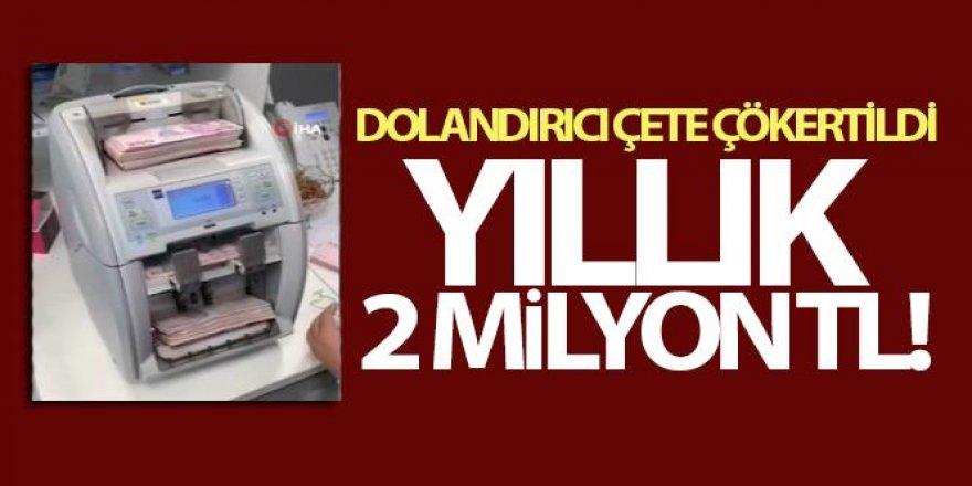 Sahte araç muayene sitesiyle 2 milyon lira vurgun yaptılar
