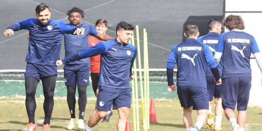Erzurumspor'da Fatih Karagümrük maçı hazırlıkları