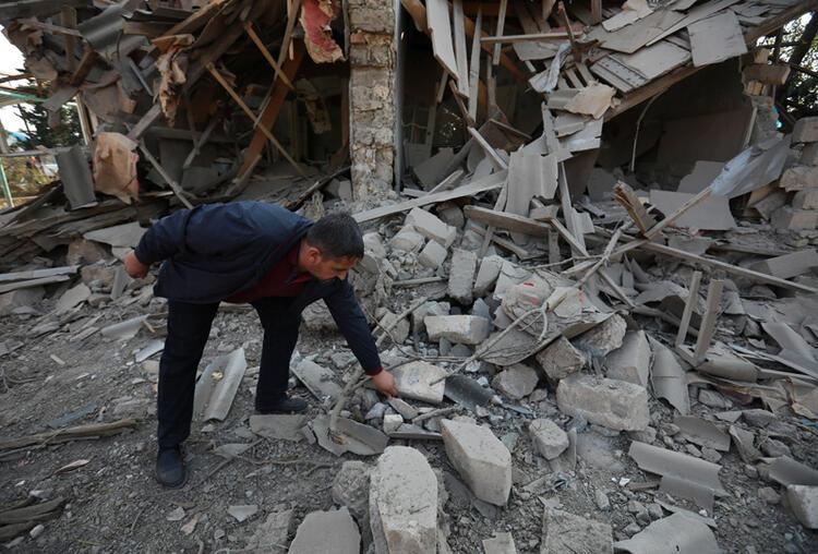 Ermenistan Berde'de sivilleri vurdu, şehit ve yaralılar var