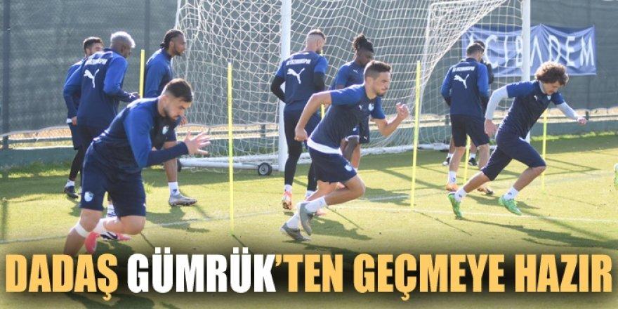 Erzurumspor, Fatih Karagümrük maçı hazırlıklarını tamamladı