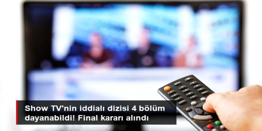 Ekranlara iddialı giriş yapan Şeref Sözü dizisi, 4. bölümde final yapıyor