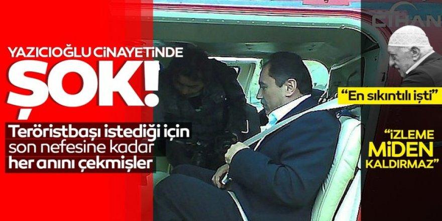 Yazıcıoğlu cinayetinde şok!