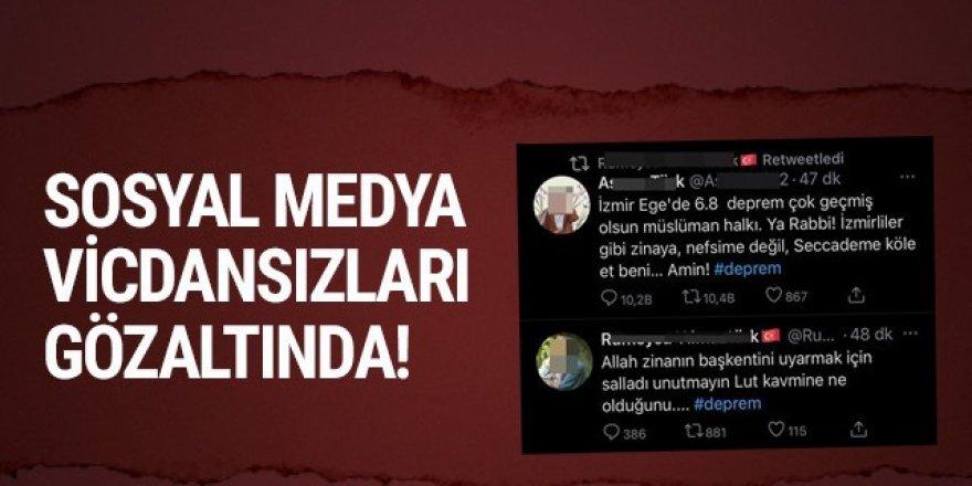 Sosyal medyanın vicdansızlarına peş peşe gözaltı