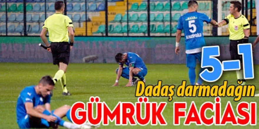 Fatih Karagümrük: 5 - BB Erzurumspor: 1