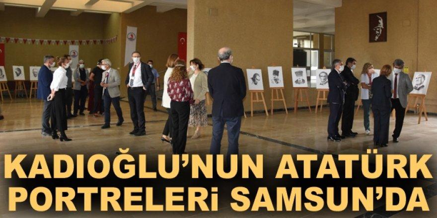 Kadıoğlu'nun Atatürk Portreleri Samsun'da