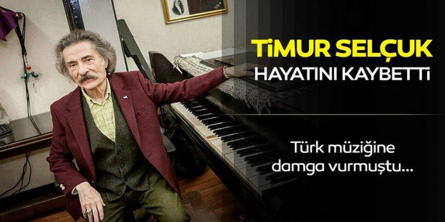 Ünlü müzisyen Timur Selçuk hayatını kaybetti!