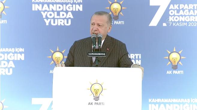 Cumhurbaşkanı Erdoğan'dan 'değişim' mesajı