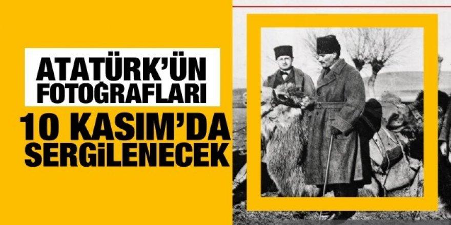 Atatürk'ün fotoğrafları 10 Kasım'da sergiye sunuluyor