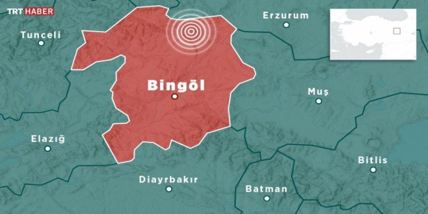 Bingöl Karlıova'da şiddetli deprem