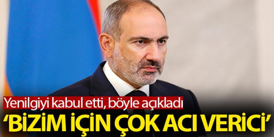 Ermenistan yenilgiyi kabul etti