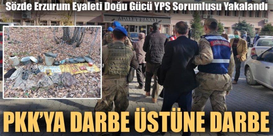 """""""Sözde Erzurum Eyaleti Doğu Gücü YPS Sorumlusu"""" yakalandı"""