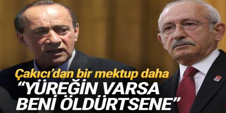 Çakıcı'dan Kılıçdaroğlu'na: Yüreğin varsa beni öldürtsene