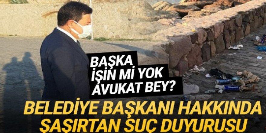 Bodrum Belediye Başkanı hakkında şaşırtan suç duyurusu