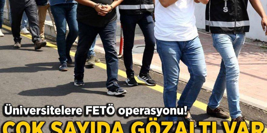 FETÖ'nün üniversite örgütlenmesine operasyon: 10 göz altı
