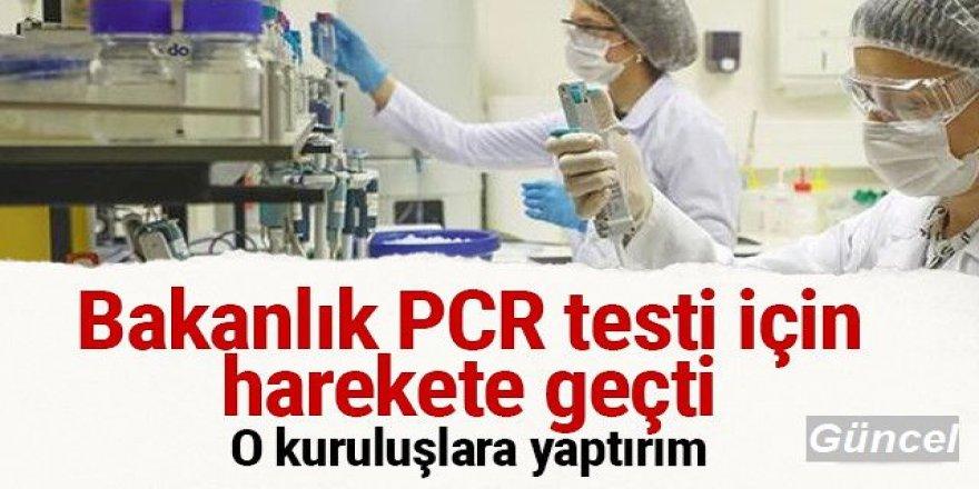 Bakanlık PCR testi için hareke geçti! Farklı tarife uygulayan kuruluşlara yaptırım