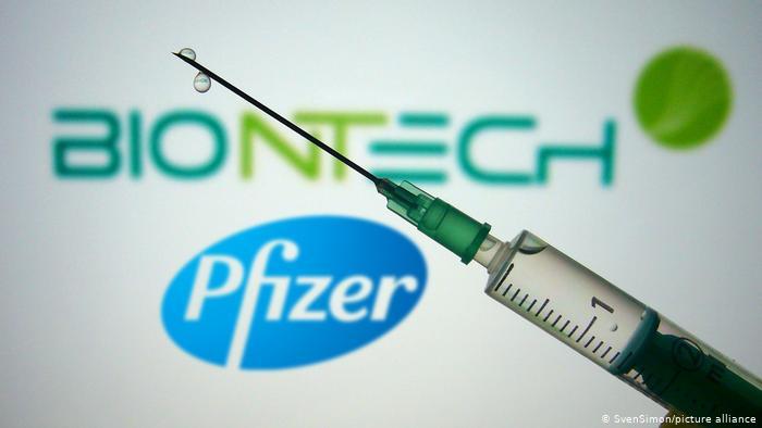 PfizerveBiontech'in  geliştirdiği korona virüs aşısının kullanılacağı tarih