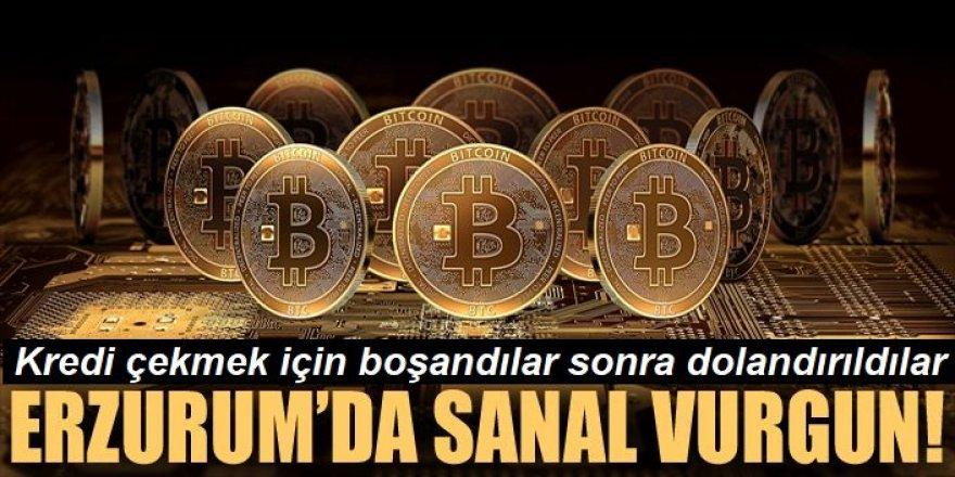 Erzurum'da bitcoin dolandırıcılığı