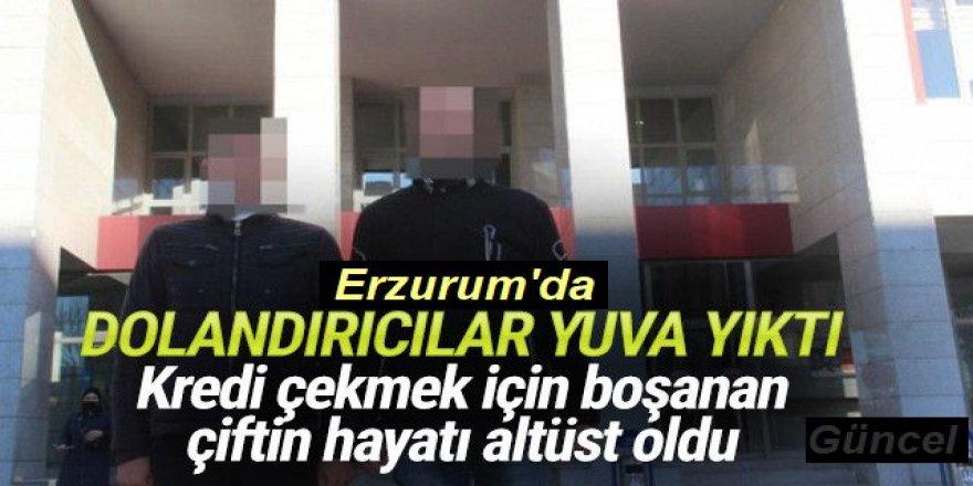 Erzurum'da bitcoin dolandırıcılığı: Yuva yıktılar