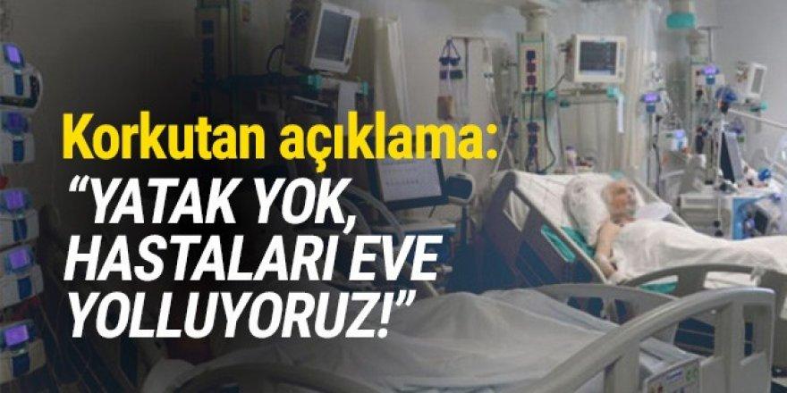 'Koronavirüs hastalarını yatak boşaldığında çağırıyoruz''