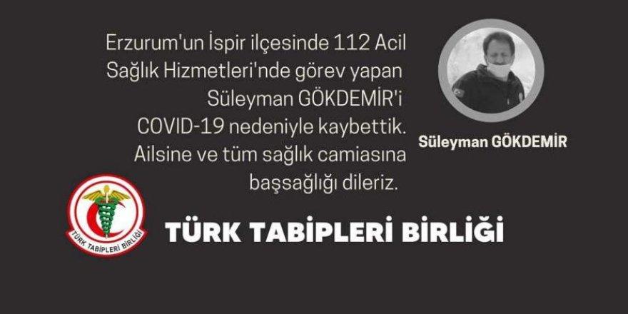 Erzurum'da sağlıkçılar can veriyor