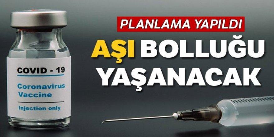 75 milyon doz aşı Türkiye'ye geliyor