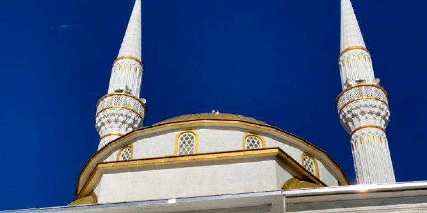 Horasan'da Mescid-i Aksa Camii ibadete açıldı