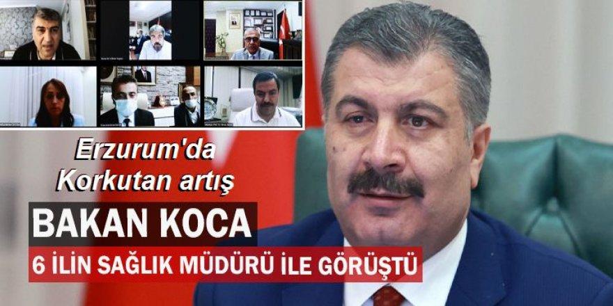 Sağlık bakanından Erzurum uyarısı