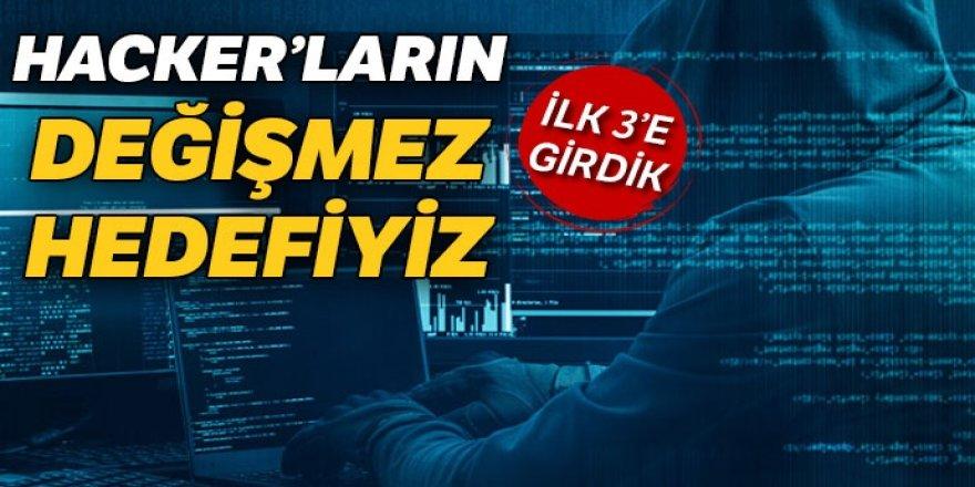 Siber saldırılar Avcı, Azad ve Kasırga ile püskürtülüyor