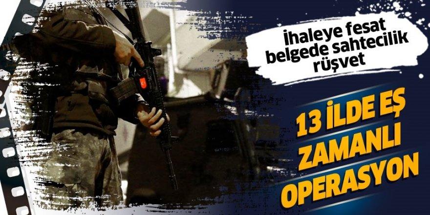 Rüşvet operasyonunda 23 tutuklama