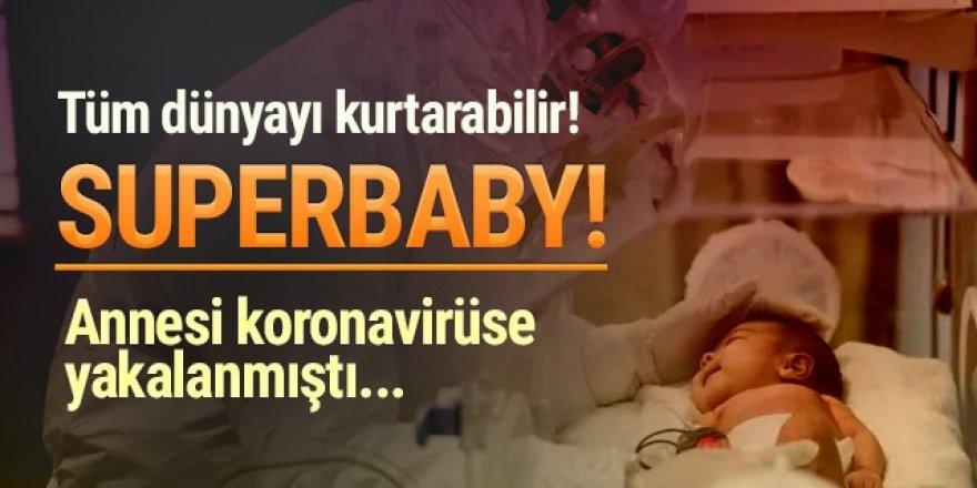 Annesi koronavirüse yakalanan bebek antikorla doğdu