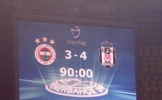 Beşiktaş'tan Fenerbahçe'ye derbi sonrası gönderme
