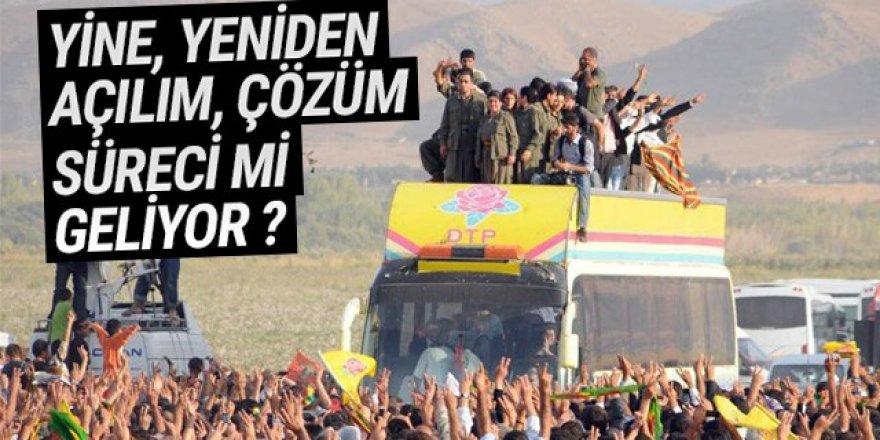 AK Parti yine, yeniden çözüme sürecini mi başlatıyor ?