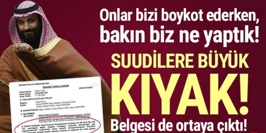 Türk ürünlerini boykot eden Suudilere büyük kıyak