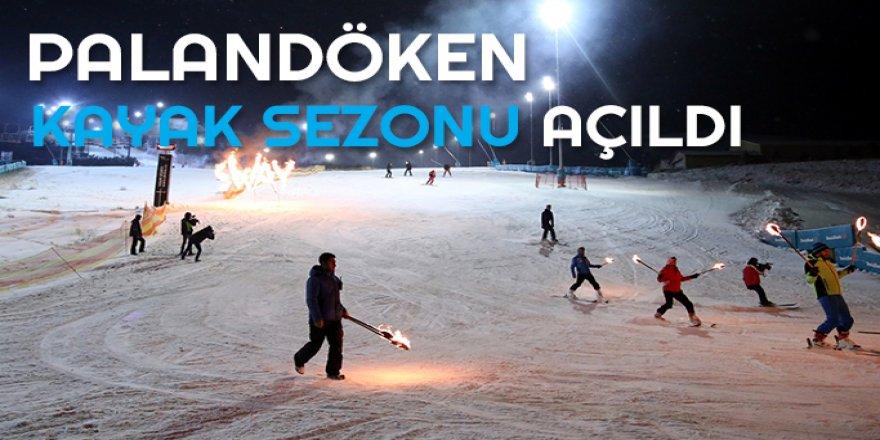Kayak sezonu suni karla açıldı
