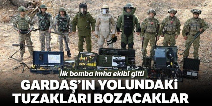 METİ ve PMKİ timleri kardeş Azerbaycan Ordusu'na destek sağlamaya başladı