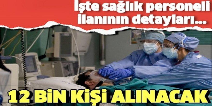 12 bin sözleşmeli sağlık personeli alım ilanı Resmi Gazete'de yayımlandı