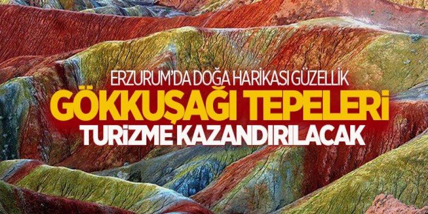 Erzurum Gökkuşağı Tepeleri: renk cümbüşü
