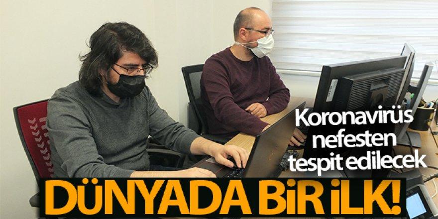 Dünyada bir ilk... Koronavirüs nefesten tespit edilecek