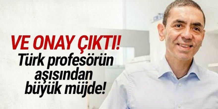 Türk bilim insanının Covid-19 aşısına onay çıktı!