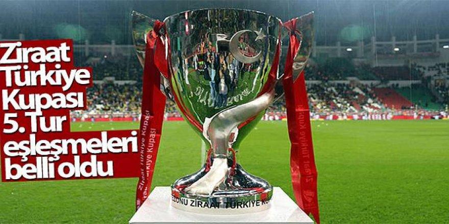 Ziraat Türkiye Kupası'nda 5. Tur programı belli oldu!